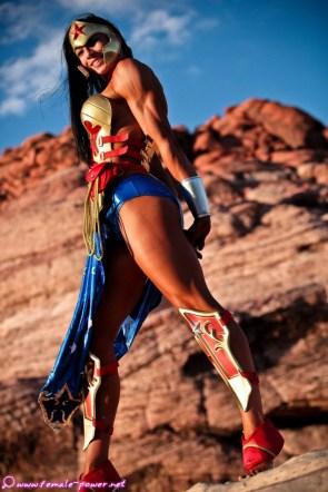 amazonian wonder woman