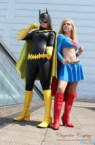 batgirl and supergirl cosplay