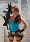 lara croft cosplay by val raiseth