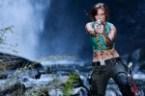 Lara Croft  – Waterfall