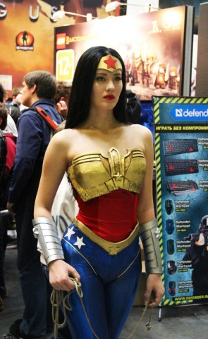sultry wonder woman