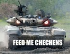 hungry russian tank