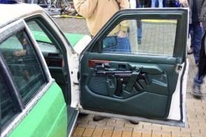 well armed car