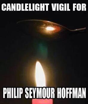 canlelight vigil for philip seymour hoffman