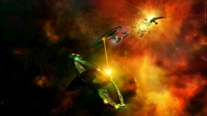 Enterprise vs birds of prey by hameed