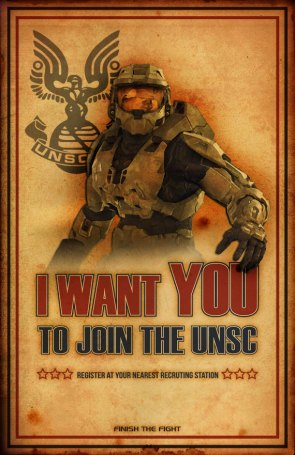 I want you for the UNSC