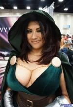 Ivy Doom itty dr doom cosplayer