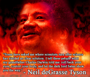 Neil deGrasse Tyson – let the dark lord show you the way