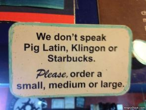 Normal Coffee Shop Sign