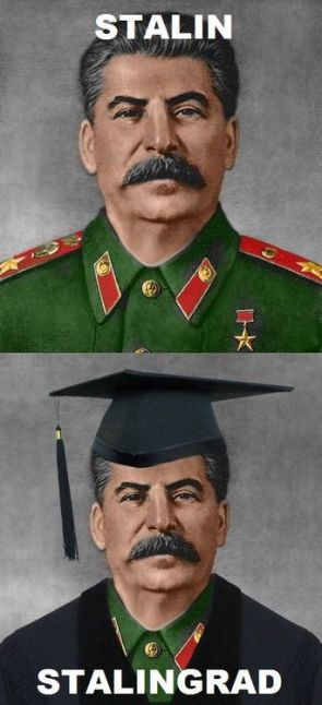 Stalin vs Stalingrad