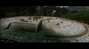 Star Trek Generations disaster scene