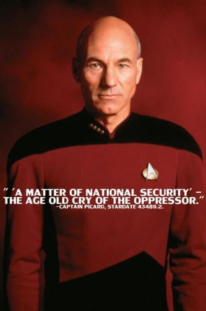 captain picard – a matter of national security