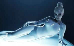 cyber tron woman