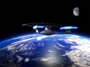 enterprise visiting earth