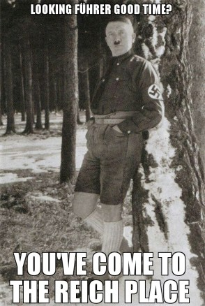 looking fuhrer good time