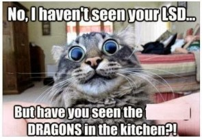 no I haven't seen your LSD