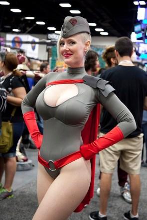 russian powergirl