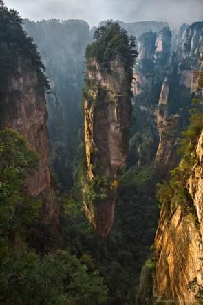vertical pillar