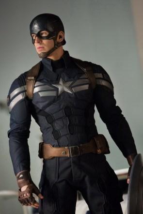 Captain America's Black Costume
