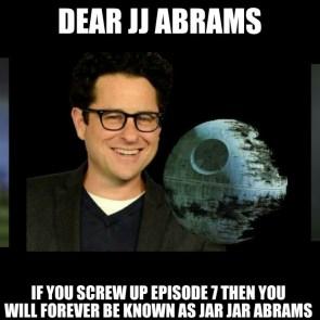 Dear JJ Abrams
