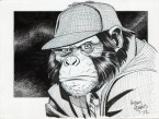 Detective Chimp by art adams