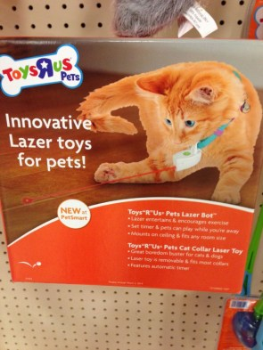 Innovative Lazer toys for pets
