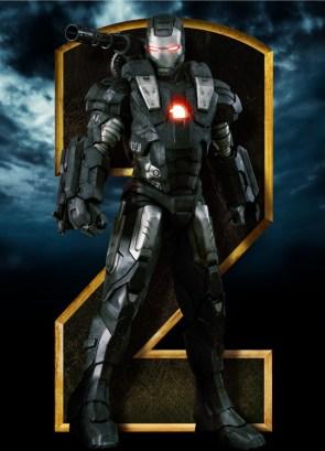Iron Man 2 – Black and White