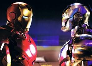Iron Man vs Proto Iron man