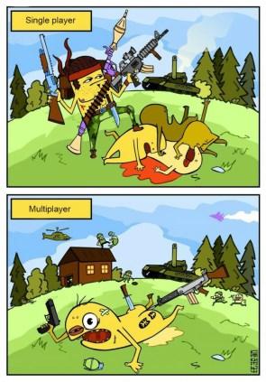Single Player vs Multiplayer