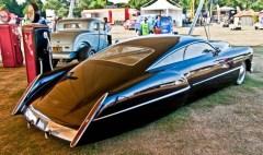 Sleek Retro Future Car