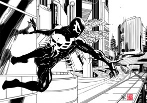 Spider-Man 2099 Black and White