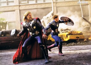 Thor and Captain America