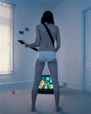 Topless Guitar Hero