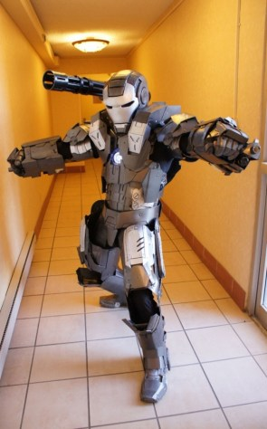 War Machine Cosplayer