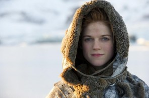 Ygritte all bundled up