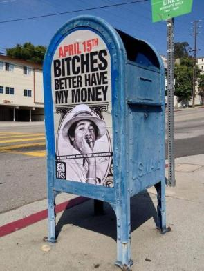 obama collects his money