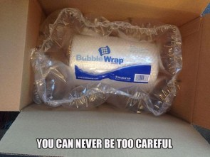 you can never be too careful