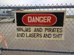 danger – ninjas and pirates and lasers and shit