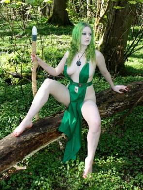 green cosplay