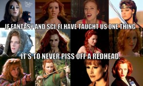 never piss off a redhead