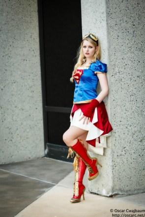 supergirl steampunk