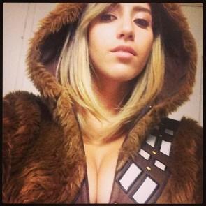 wookie cleavage