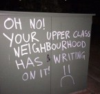writing on your neighborhood