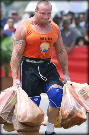 Bringing In The Groceries
