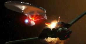 Enterprise vs Bird of Prey