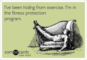 Hiding From Exercise