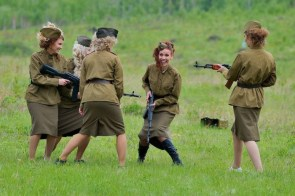 Russian Military Girls