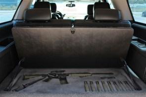 SUV Weapon storage