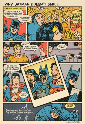 Why Batman Does Smile
