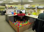 ball pit cubical